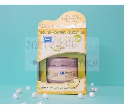 Крем для лица с бобами и Q10 Yoko Soybean Q10 Cream / 50 мл