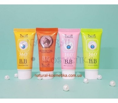 ББ крем  с лошадиным маслом, Obuse / BB cream with Horse Oil / 20 г Корея