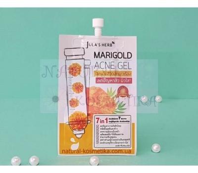 Точечная гелевая маска против акне с календулой / Jula's Herb Marigold Acne Gel / 8 мл
