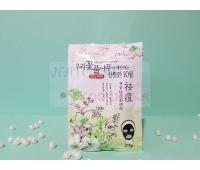 Угольная маска - пленка с зеленым чаем / Rolanjona 25 г