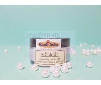 Крем кхади Сандал, Роза & Алое-вера  / Sandalwood, Rose & Aloe-Vera, Khadi / 50 гр