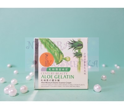 Увлажняющий крем для всех типов кожи / Aloe Gelatin / 50 г