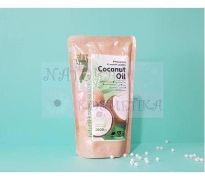 Филипинское пищевое кокосовое масло без парабенов / nature 7coconut oil / 1000 мл