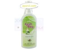 Растительный шампунь Ним, мята, папайя, камфора, Нидко Кэш раг / Kesh Rag Nidco herbal shampoo / 100 мл