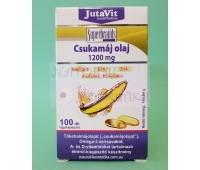 Омега -3, EPA, DHA, A-vitamin, D3  с маслом печени трески (1200 мг) / JutaVit / Венгрия / 100 кап