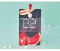 Натуральный бб крем для лица арбуз + томат SPF 45 / Baby Bright Watermelon & Tomato Matte BB Cream SPF45 PA++ 7 гр.