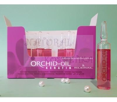 Ампулы с маслом орхидеи для укрепления волос / Kleral System Orchid Oil Line / Kleral Orchid Oil-fiale / Италия / 10 мл