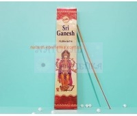 Аромапалочки/Благовония индийские пыльцовые Шри ганеш, цветочный запах / Sri ganesh flora bath/ 20 г